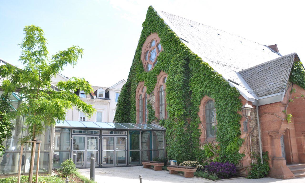 Englische Kirche von außen